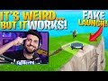 OUTPLAY Enemies With A *FAKE* Launch Pad! (Fortnite Battle Royale)