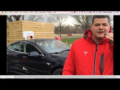 Voyage Québec-Floride en Voiture Électrique (Tesla Model S) avec 3 enfants