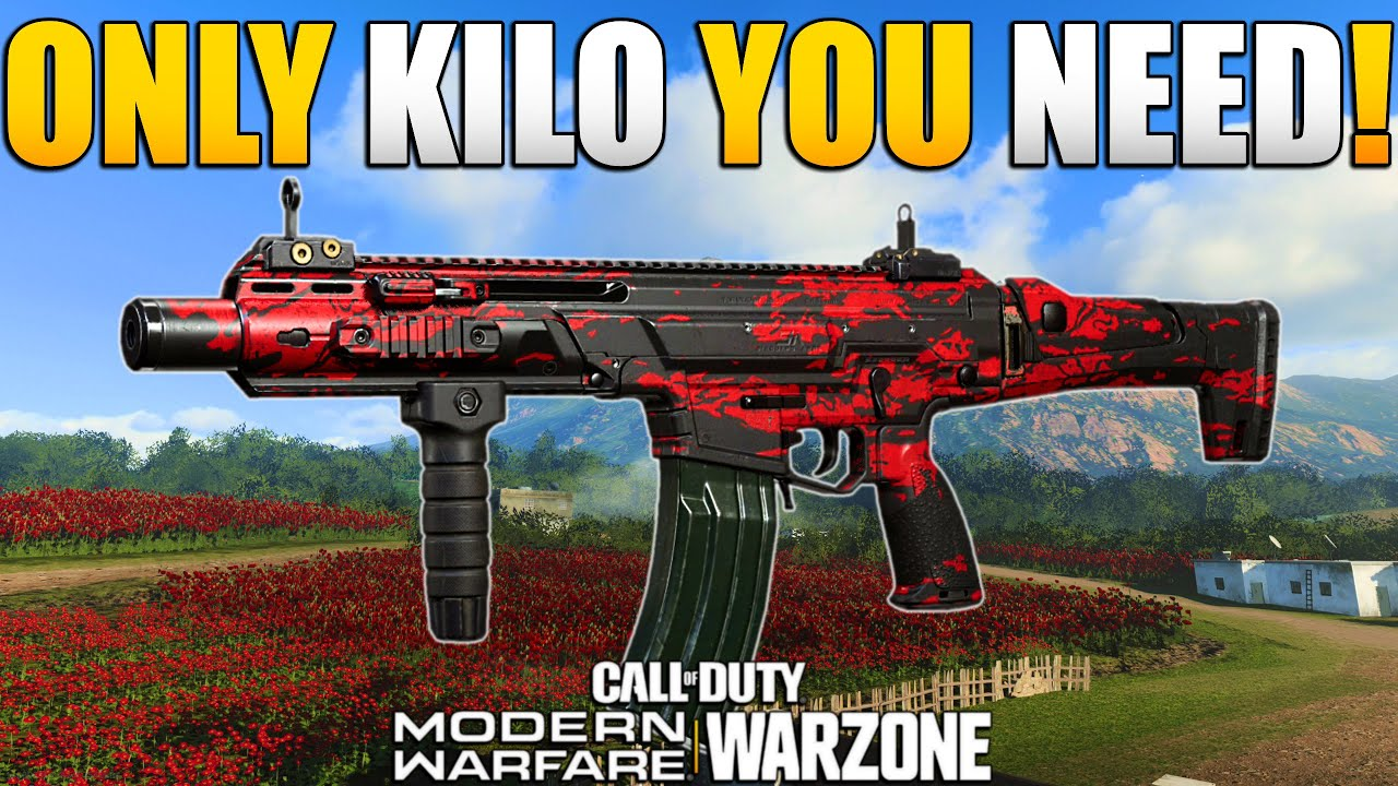How to Make the Best Possible Kilo 141 Class Setup for WARZONE | Modern Warfare BR | JGOD