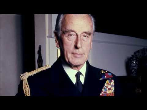 Lord Louis Mountbatten sharing his memories of Winston Churchill