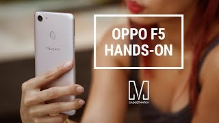 OPPO F5 Hands-On