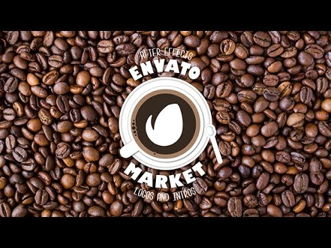 Cafe Logo Reveal | After Effects template