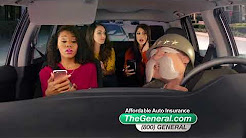 The General Car Insurance Cruising Girlfriends Commercial
