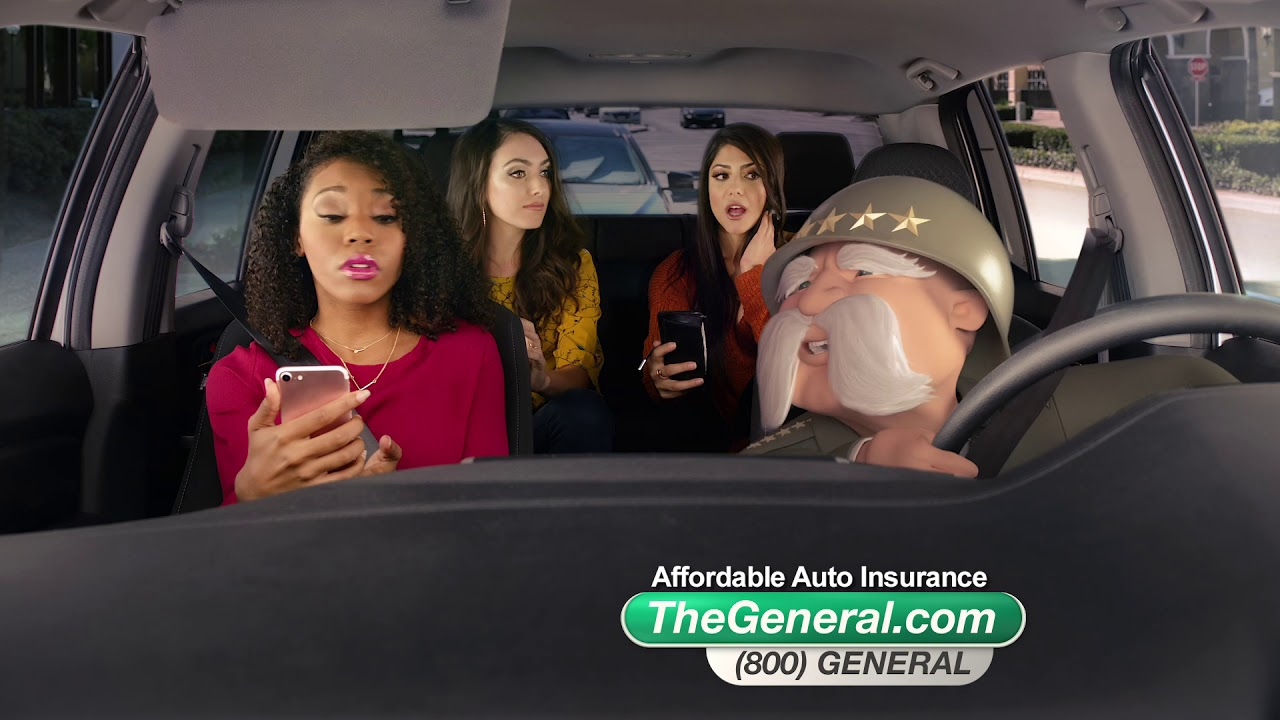 The General Car Insurance: The General Car Insurance Cruising Girlfriends Commercial
