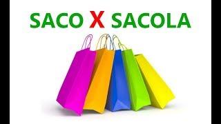 The Difference Between Saco and Sacola – Portuguese Vocabulary   #TeacherRicardoFilgueira