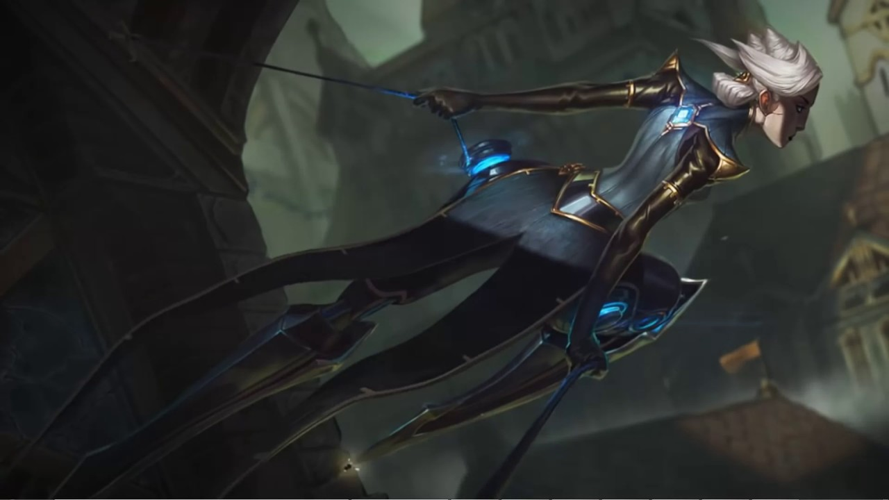 Camille The Steel Shadow Lol Login Screen For Wallpaper Engine