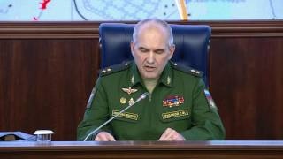 Обстановка в Алеппо  Брифинг НГОУ ГШ ВС РФ генерал лейтенанта С Ф  Рудского (17 10 2016)