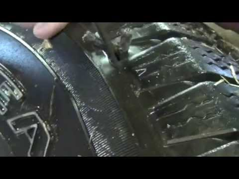 Tire Leak Detection and Plug Fix