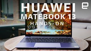 Huawei Matebook 13 Hands-On at CES 2019
