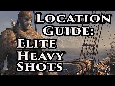 Elite Heavy Shots Blueprints | Assassin's Creed Rogue | Xbox 360