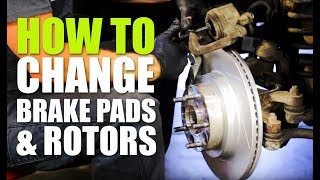 How to Replace Brake Pads and Rotors (COMPLETE Detailed Guide) | Teraflex Big Rotor Kit Install