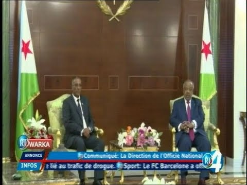 Télé Djibouti Chaine Youtube : JT Somali du 07/01/2018