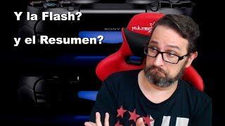 ¿Dónde están flash sale y el resumen?