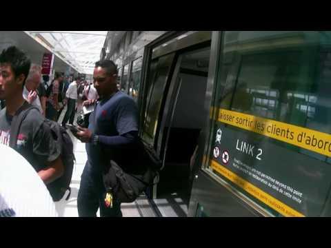 (Bonus Video) Toronto Pearson International Airport Terminal 1 to Terminal 3