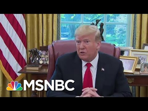 President Donald Trump Seizing Billions Of Taxpayer Dollars For Wall He Said Mexico Would Fund