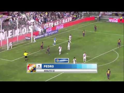 Rayo vallecano vs. barcelona: la liga live score, highlights, recap
