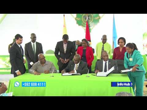 A more than US$15M agreement for sustainable land development project signed.