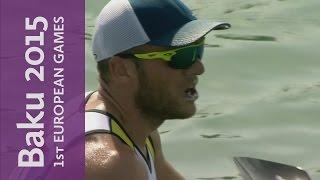 Max Hoff picks up Gold number two in Baku | Canoe Sprint | Baku 2015 European Games