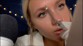 ASMR| Teeth Cleaning and Dental Exam\ Close Whisper