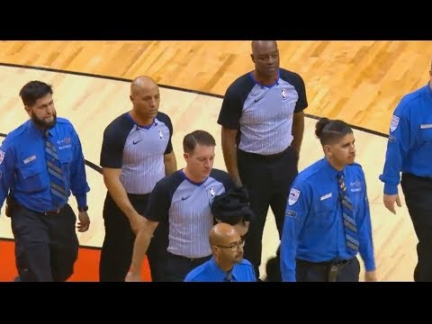 NBA Refs Get Police Escorted Out After Thunder vs Raptors Game For Ejecting DeMar DeRozan & Coach!