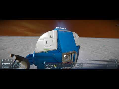 Space Engineers - Planning the Entrence - Ep 8