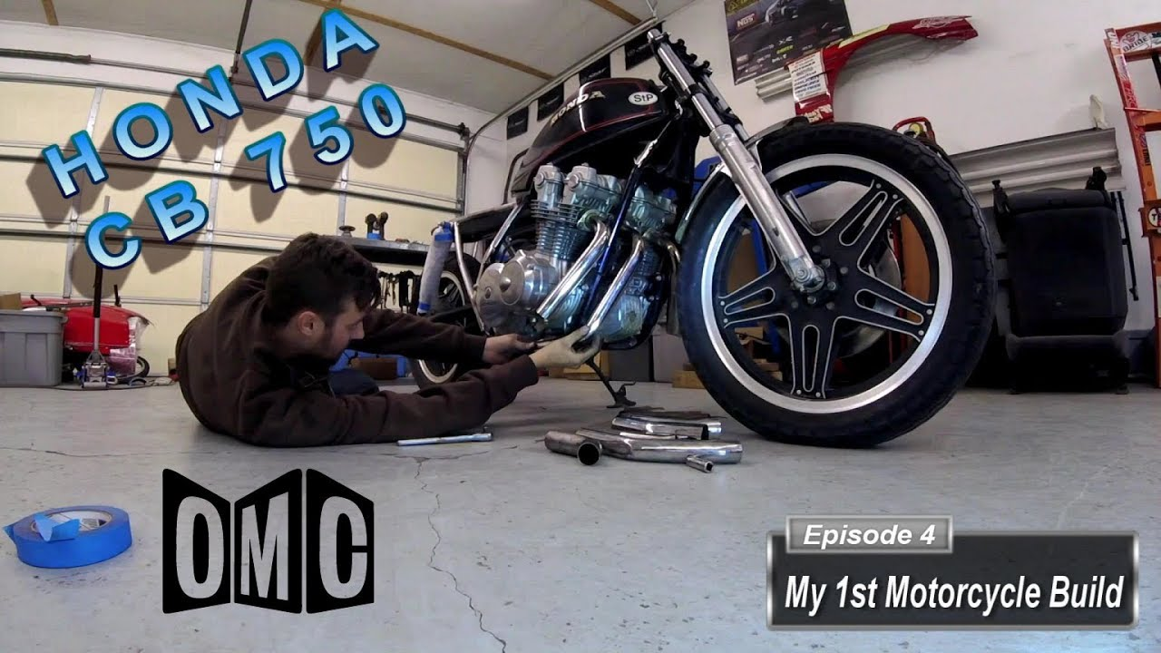 My 1st Motorcycle Build E4