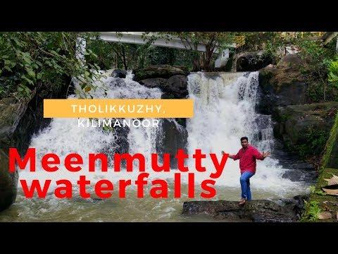 Meenmutty Waterfalls Thiruvananthapuram   Kilimanoor  Malayalam  Binshah Vlog 