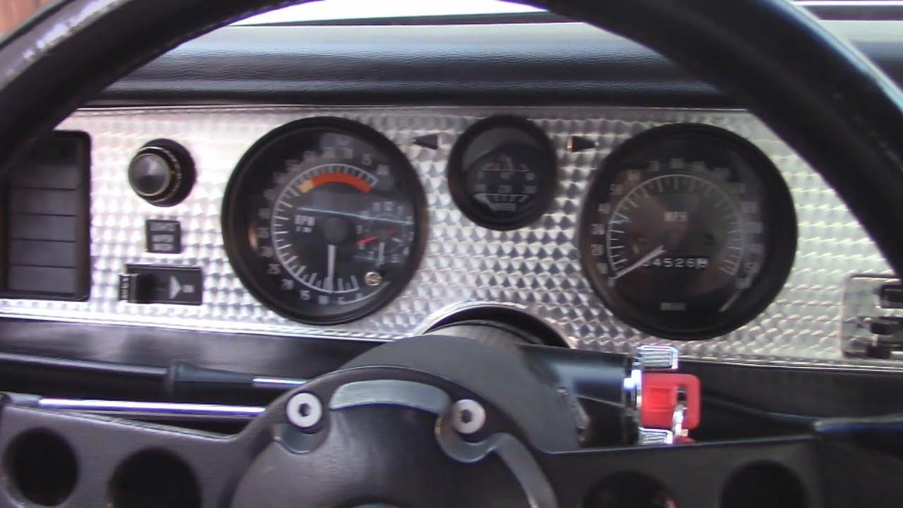 trans am dash bezel and gauge work 1973 firebird [ 1280 x 720 Pixel ]