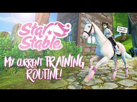 My CURRENT training routine! | Star Stable Updates