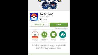 """Descargar Pokémon Go Oficial """"Play Store"""" Latinoamerica (Perú, Bolivia, Chile, etc)"""