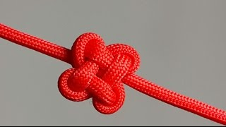 How to make a Clover Knot [by ParacordKnots]