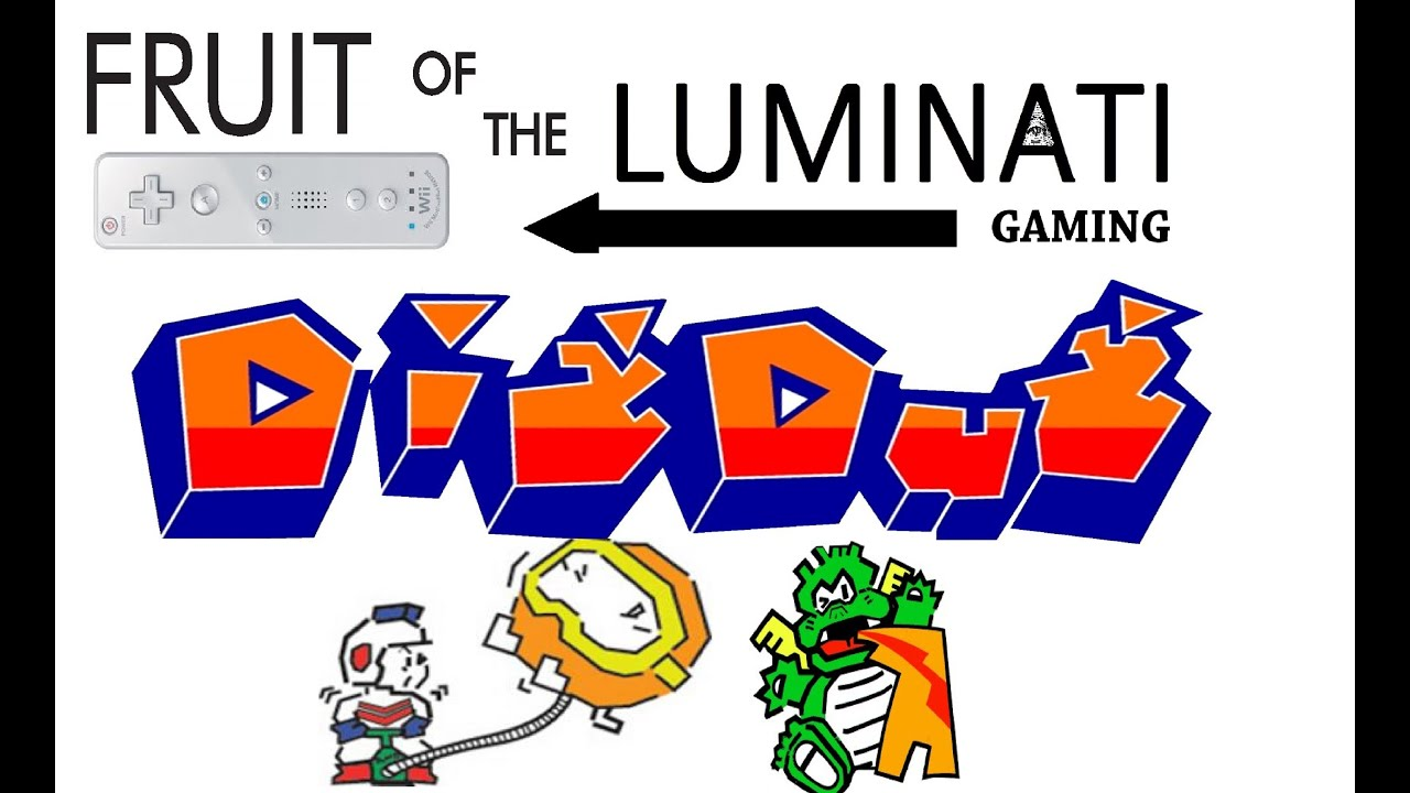 fruit of the luminati gaming dig dug pooka u0027s n u0027 fygar u0027s youtube
