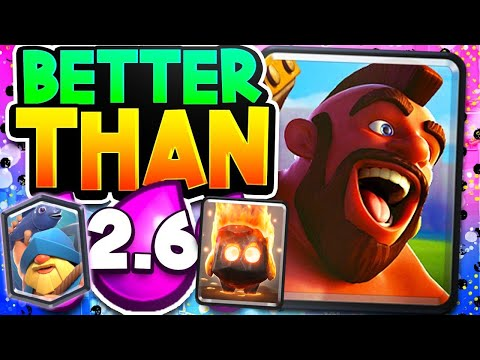 FINALLY - a BRAND NEW HOG CYCLE DECK in Clash Royale!