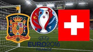 SPANIEN gegen SCHWEIZ - EM 2016 FRANKREICH (Qualifikation) ◄ESP #02►