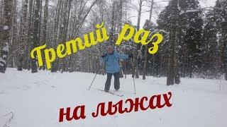 Мой третий поход на лыжах