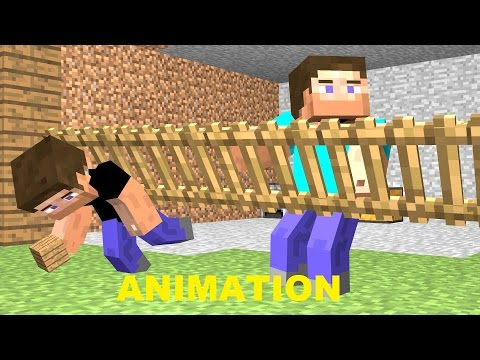 Workin' with a Noob 1, a funny Minecraft Animation