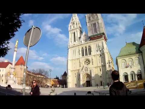 GoPro Tour of Zagreb, Croatia.