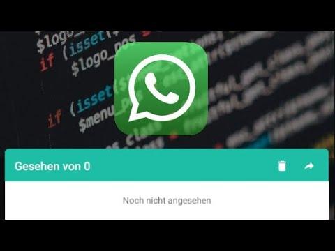 WhatsApp Status ansehen ohne gesehen zu werden - YouTube