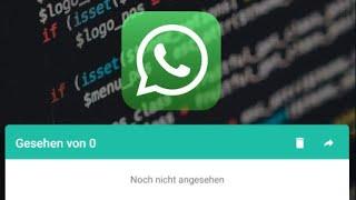 Ohne zu whatsapp gesehen status werden lesen Whatsapp Status