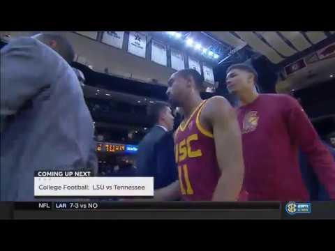 USC Men's Basketball: USC 93, Vanderbilt 89 - Highlights (11/19/17)