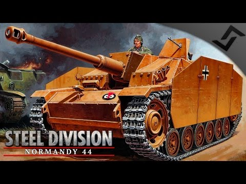 *NEW* German 17th SS Battlegroup Review - Steel Division: Normandy 44 - Beta Gameplay