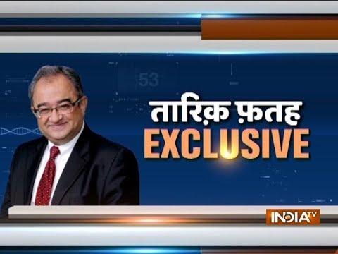 People who do not like India should be sent to Pak, says Tarek Fatah on IndiaTV show