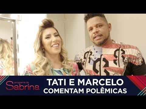 Tati e Marcelo comentam polêmicas do Power Couple