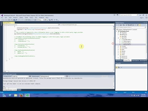 How to add OAuth and openID using Asp.net MVC 5