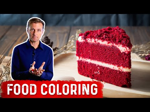 The Dangers of Red Food Dye