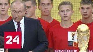 Путин заставил понервничать президентскую охрану
