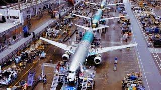 देखिए इतने बड़े जहाज़ ज़रा सी देर मे फैक्टरी मे कैसे बनाए जाते है || Aeroplane Manufacturing Process