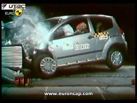 Euro NCAP   Citroen C2   2003   Crash test - YouTube 2ad635b4ea5