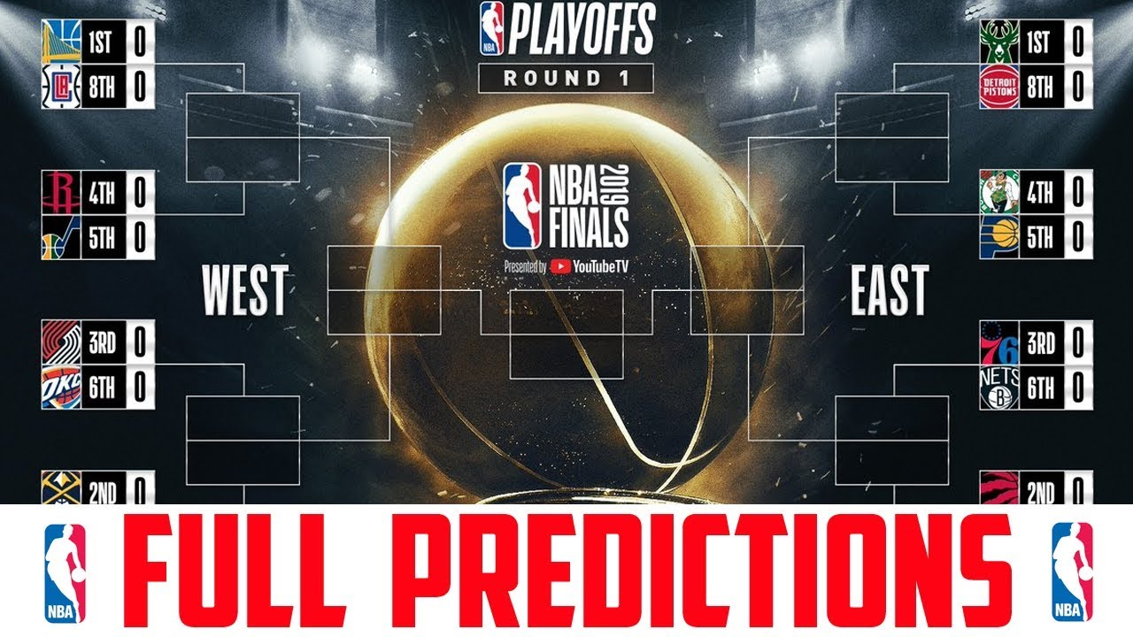 NBA Playoff Predictions 2019 (NBA Playoffs 2019 ...