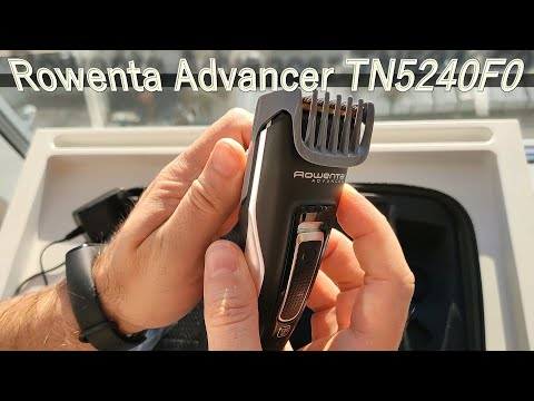 Машинка триммер для стрижки волос Rowenta Advancer TN5240F0. Для стрижки любых волос на теле.